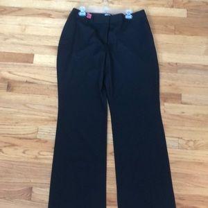 J. Crew black suiting pants